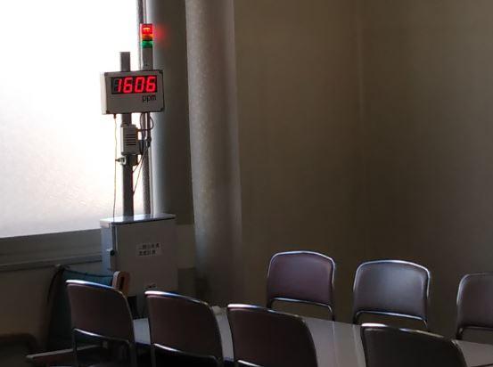 LED表示板co2換気